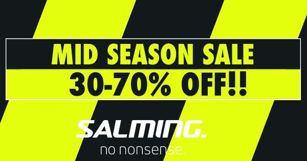 Kampanj: Mid Season Sale 30-70%. Av Salming
